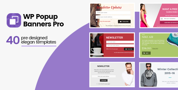 WP Popup Banners Pro - Ultimate popup plugin for WordPress - CodeCanyon Item for Sale
