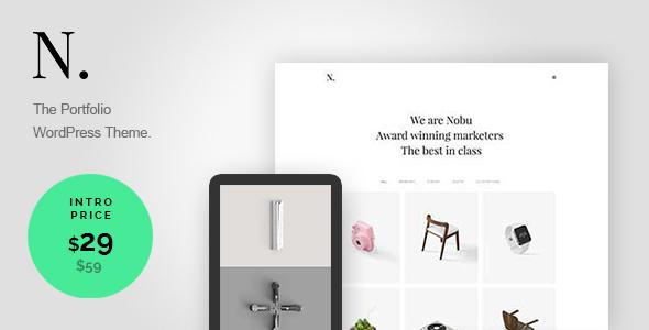 Nobu – Creative Portfolio WordPress Theme