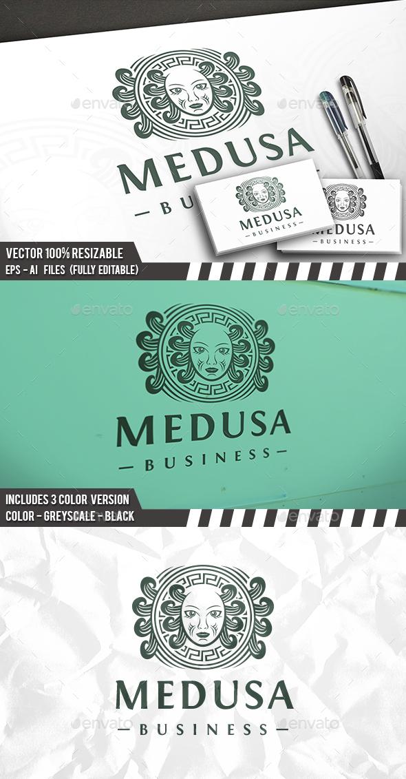 Medusa Logo - Crests Logo Templates