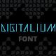 Digitalium Future Font - GraphicRiver Item for Sale