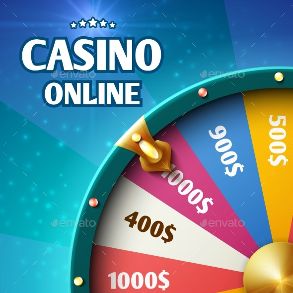 Internet Casino Marketing Background - Miscellaneous Vectors
