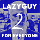LazyGuy 2 - Personal Landing Page Template for Everyone - ThemeForest Item for Sale