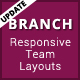 Branch - Responsive Bootstrap Team Layouts