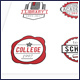 Education Vector Badges Logos - GraphicRiver Item for Sale