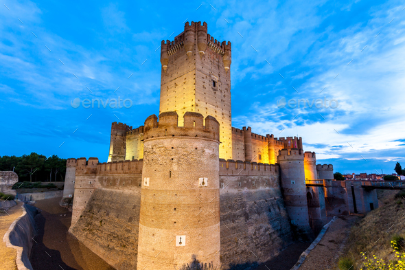 Castle of the Mota - Stock Photo - Images