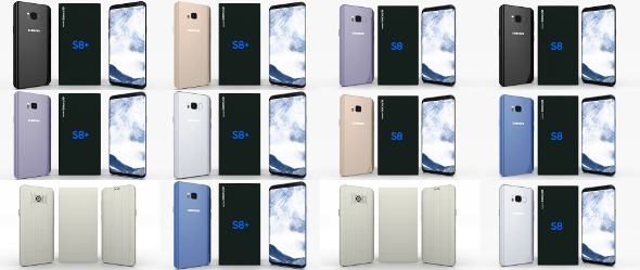 Samsung Galaxy S8 and S8+ Pack - 3DOcean Item for Sale
