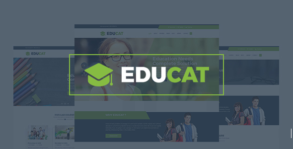 Educat - Education & LMS WordPress Theme