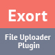 Exort - jQuery File Picker & Uploader Plugin - CodeCanyon Item for Sale