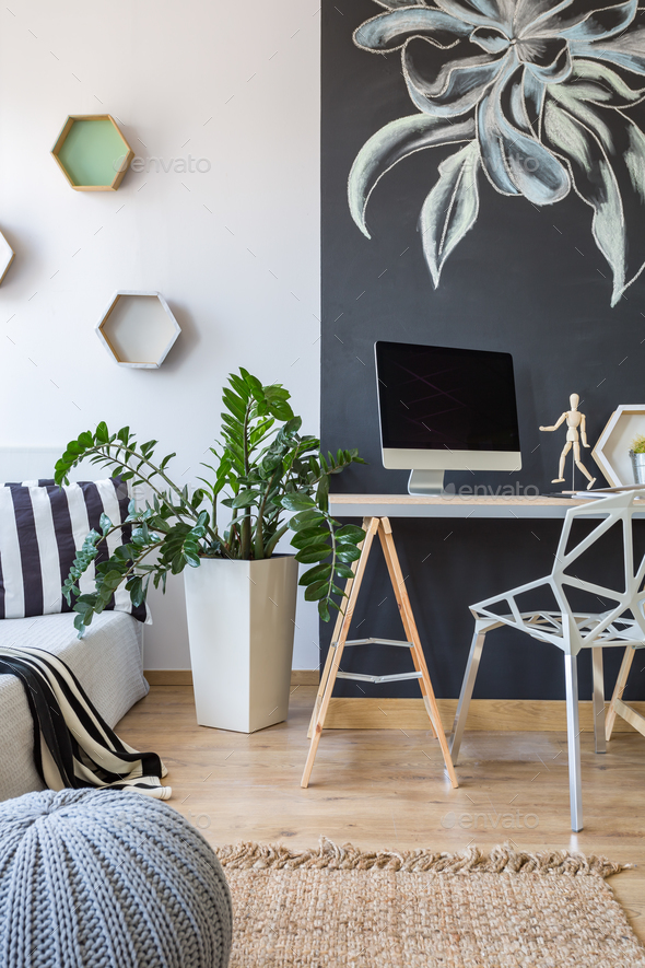 Place to work at home - Stock Photo - Images