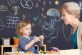 Teacher on classes - PhotoDune Item for Sale