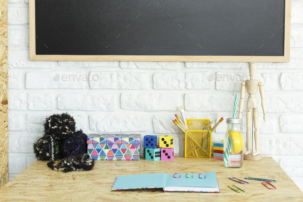 Colorful office accessories Fun Colorful Desk Accessories Stock Photo Images Photodune Colorful Desk Accessories Stock Photo By Bialasiewicz Photodune
