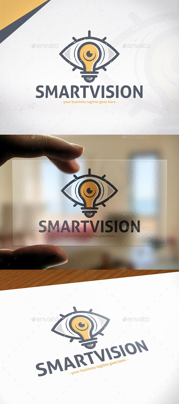 Smart Vision Logo Template - Symbols Logo Templates