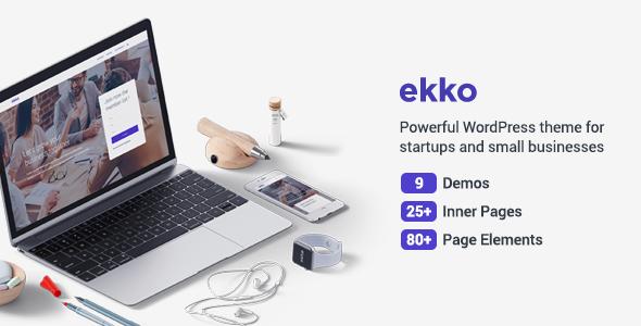 Ekko - Business MultiPurpose WordPress Theme - Business Corporate