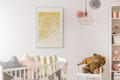 Toddler bedroom with white crib - PhotoDune Item for Sale