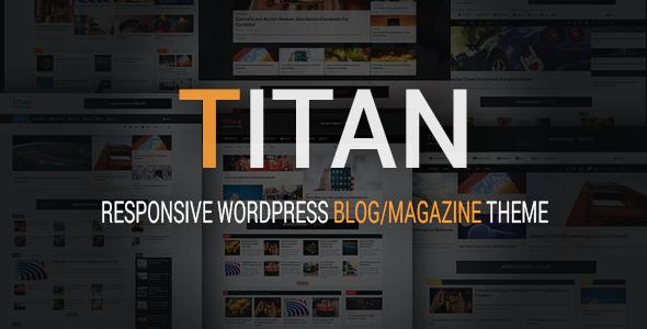 Titan - Responsive WordPress Blog And Magazine Theme