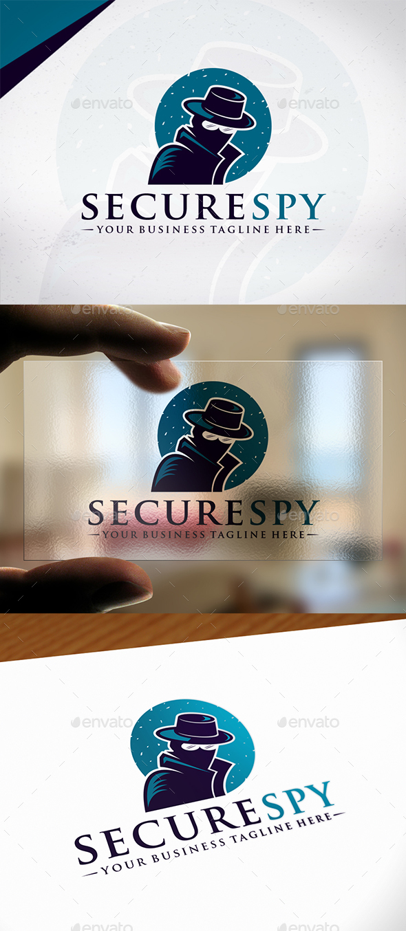 Security Spy Logo Template - Humans Logo Templates