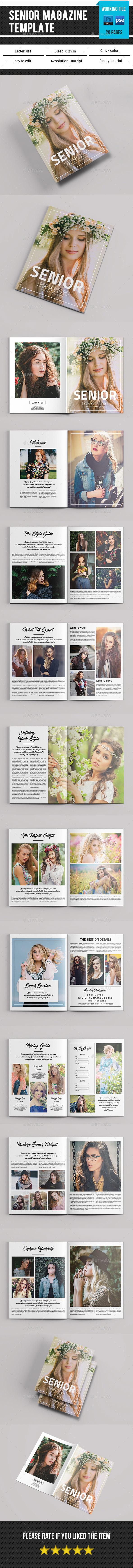 Senior Photography Magazine V09 - Catalogs Brochures