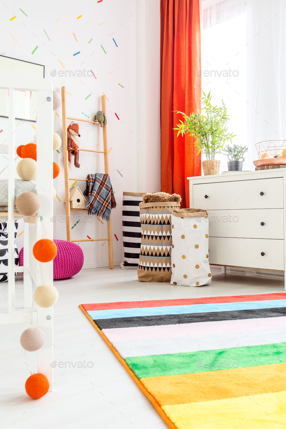 Scandi room and decorations - Stock Photo - Images