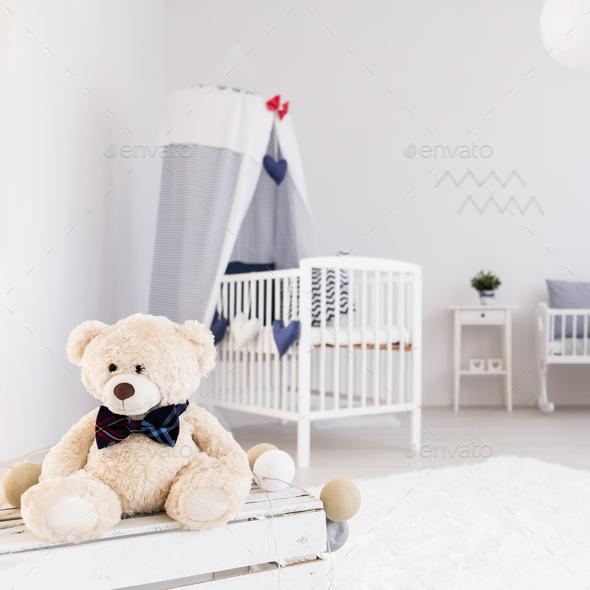 Ious Baby Room With Teddy Bear