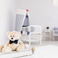 Spacious baby room with teddy bear - PhotoDune Item for Sale
