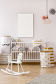 Baby bedroom in scandinavian style - PhotoDune Item for Sale