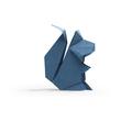 Squirrel in origami