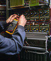 electrician testing industrial machine - PhotoDune Item for Sale