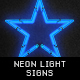 Neon Light Signs - GraphicRiver Item for Sale