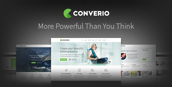 Converio - Responsive Multi-Purpose WordPress Theme - Corporate WordPress