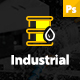 Industrial - Industry & Shipping Business PSD Template Nulled