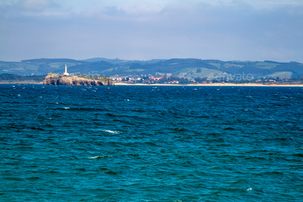 Lighthouse in  Mouro Island - Stock Photo - Images