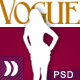 VOGUE - fashionable template. Nulled