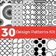 30 Design Patterns Kit - GraphicRiver Item for Sale