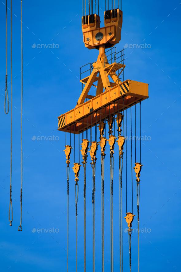 Port derrick - Stock Photo - Images