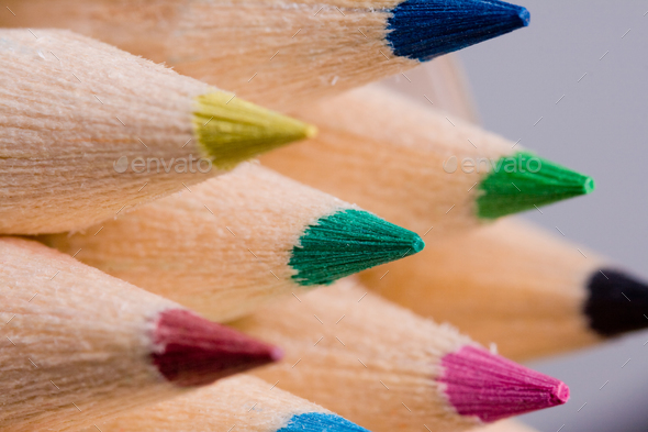 Colour pencils - Stock Photo - Images