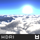 High Resolution Above The Clouds HDRi Map 002