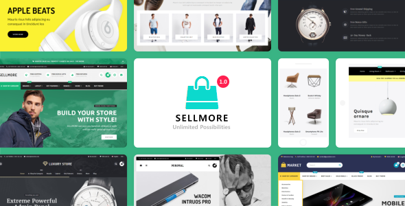 SELLMORE – Highly Customizable Multi-Purpose Opencart Theme