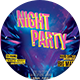Night Party v.2 Flyer - GraphicRiver Item for Sale