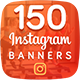Instagram Banners Bundle - GraphicRiver Item for Sale