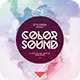 Color Sound Flyer - GraphicRiver Item for Sale