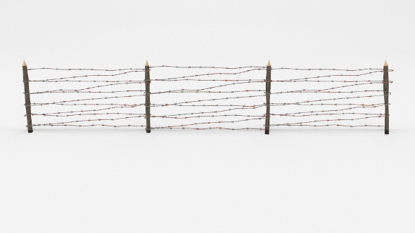 Barb Wire Obstacle 7 - 3DOcean Item for Sale