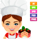 Master Chef Mascot Pack - GraphicRiver Item for Sale