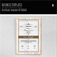 Certificate Template US Tabloid - GraphicRiver Item for Sale
