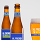 Beer Bottle Mockup 2