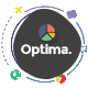 Optima - Multiple solutions for Finance, Marketing, Loan, SEO & Consultation Business, PSD Template