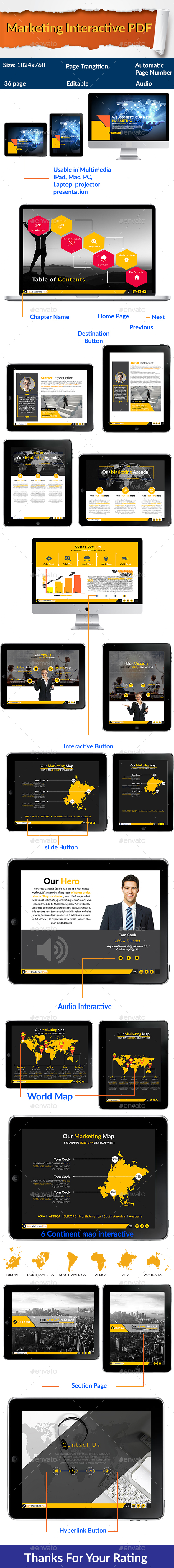 Marketing Plan Interactive PDF - Digital Books ePublishing