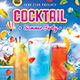 Summer Cocktail Party Flyer - GraphicRiver Item for Sale