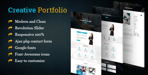 Creative Business Portfolio/Resum HTML Template