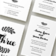 Wedding Invitation Suite - Fiora - GraphicRiver Item for Sale