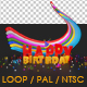 Birthday Rainbow - VideoHive Item for Sale